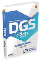 Murat Yayınları DGS Sözel Bölüm Soru Bankası