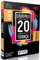 Yanıt Yayınları TYT Türkçe Çözümlü Çek Kopar 20 Denemesi
