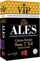 Yargı Yayınları 2019 ALES VIP Tamamı Çözümlü Son 7 Yıl Çıkmış Sorular