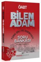 İndeks Akademi Yayıncılık 2019 ÖABT BİLEN ADAM Türk Dili ve Edebiyatı Çözümlü Soru Bankası