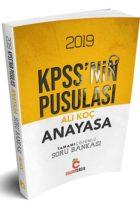 Doğru Tercih Yayınları 2019 KPSS'nin Pusulası Anayasa Tamamı Çözümlü Soru Bankası