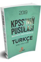 Doğru Tercih Yayınları 2019 KPSS nin Pusulası Türkçe Konu Anlatımı