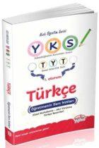 Editör Yayınları YKS 1. Oturum Türkçe Öğretmenin Ders Notları