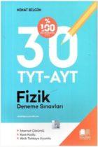 Nihat Bilgin Yayınları TYT-AYT Fizik 30 Deneme Sınavı