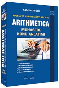 İkinci Sayfa Yayınları KPSS A Grubu ve Kurum Sınavları İçin ARITHMETICA Muhasebe Konu Anlatımı