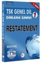 Pelikan Yayınları TSK Genel Dil Dinleme Sınavı 1 Restatement