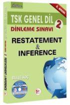 Pelikan Yayınları TSK Genel Dil Dinleme Sınavı 2 Restatement  Inference