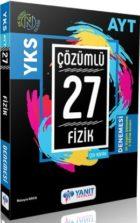 Yanıt Yayınları AYT Fizik Çözümlü 27 Deneme