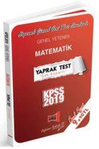 Yargı Yayınları 2019 KPSS Genel Yetenek Matematik Çek Kopartlı Yaprak Test