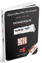 Yargı Yayınları 2019 KPSS Genel Kültür Vatandaşlık Çek Kopartlı Yaprak Test