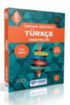 Yanıt Yayınları 8. Sınıf Türkçe Tamamı Çözümlü Denemeleri