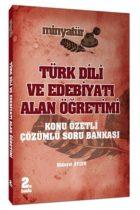 Yönerge Yayınları 2019 ÖABT MİNYATÜR Türk Dili ve Edebiyatı Alan Öğretimi Konu Özetli Çözümlü Soru Bankası