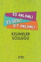 Yuva Yayınları Eş Anlamlı Eş Sesli Zıt Anlamlı Kelimeler Sözlüğü
