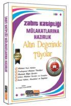Kariyer Meslek Yayınları Zabıt Katipliği Mülakatlarına Hazırlık Altın Değerinde Tüyolar