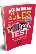 Benim Hocam Yayınları 2018 ALES Sayısal Sözel Yetenek Çek Kopart Yaprak Test