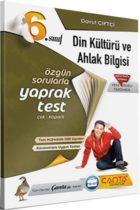 Çanta Yayınları 6. Sınıf Din Kültürü ve Ahlak Bilgisi Yaprak Test