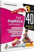 Çanta Yayınları 8. Sınıf LGS İngilizce 40 Deneme Sınavı