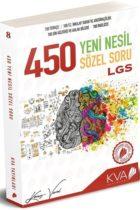 Koray Varol Yayınları LGS 450 Yeni Nesil Sözel Soru