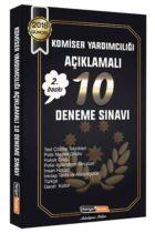 Kariyer Meslek Yayınları 2018 Komiser Yardımcılığı Açıklamalı 10 Deneme Sınavı