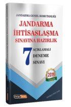 Kariyer Meslek Yayınları Jandarma İhtisaslaşma Sınavlarına Hazırlık Açıklamalı 7 Deneme Sınavı