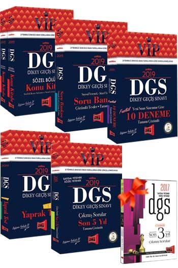 Yargı Yayınları 2019 VİP DGS Kazandıran 5 li Set