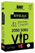 Yargı Yayınları ÖABT Değişim Serisi VIP Biyoloji Öğretmenliği Tamamı Çözümlü 41 Deneme
