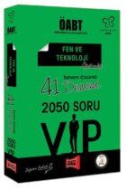 Yargı Yayınları ÖABT Değişim Serisi VIP Fen ve Teknoloji Öğretmenliği Tamamı Çözümlü 41 Deneme