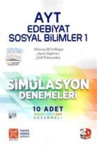Çözüm Yayınları AYT Edebiyat Sosyal Bilimler 1 Simülasyon Denemeleri