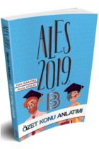 Benim Hocam Yayınları 2019 ALES Özet Konu Anlatımı