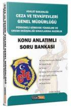 Kariyer Meslek Yayınları 2019 GYS Adalet Bakanlığı Ceza ve Tevkifevleri Hazırlık Konu Anlatımlı Soru Bankası