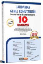 Kariyer Meslek Yayınları 2019 Jandarma Genel Komutanlığı Personel Meslek İçi Sınavlarına Hazırlık Açıklamalı 10 Deneme