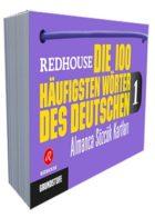 Redhouse Die 100 Häufigsten Wörter des Deutschen 1 Almanca Sözlük Kartları