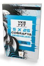 Pelikan Yayınları TYT 2019 5 x 25 Coğrafya Denemeleri