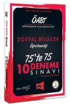 Yargı Yayınları ÖABT Sosyal Bilgiler Öğretmenliği 75'te 75 10 Deneme Sınavı