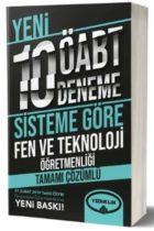 Yediiklim Yayınları ÖABT Fen ve Teknoloji Öğretmenliği Tamamı Çözümlü 10 Deneme