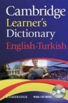 Cambridge Learners Dictionary English Turkish With CD