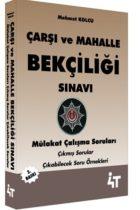 4T Yayınları Çarşı ve Mahalle Bekçiliği Sınavı Mülakat Çalışma Soruları 2.Baskı