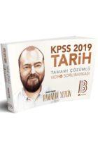 Benim Hocam Yayınları 2019 KPSS Tarih Tamamı Çözümlü Video Soru Bankası