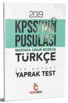 Doğru Tercih Yayınları 2019 KPSS'nin Pusulası Türkçe Çek Kopart Yaprak Test