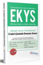 Yüksek Basamak Yayınları 2019 EKYS MEB Okul Müdür ve Müdür Yardımcılığı Gerçek Sınav Formatında 5 Adet Çözümlü Deneme Sınavı