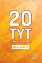 Endemik Yayınları TYT Sosyal Bilimler 20 Deneme