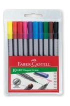 Faber Castell Grip Finepen Keçe Uç 0.4mm 10 lu Paket