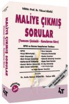 4T Yayınları Maliye Konularına Göre Tamamı Çözümlü Çıkmış Sorular 3.Baskı