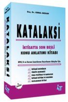 4T Yayınları Katalaksi İktisatta Son Beşli Konu Anlatım Kitabı 4.Baskı