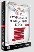 Temsil Yayınları Plus Ultra Kaymakamlık Konu Çalışma Kitabı Cilt 1