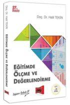 Yargı Yayınları Eğitimde Ölçme ve Değerlendirme Halil Tekin 27. Baskı