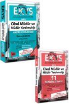 Yargı Yayınları EKYS MEB Okul Müdür ve Müdür Yardımcılığı Kazandıran Konu+Deneme Seti