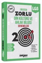 Ankara Yayıncılık 8. Sınıf Din Kültürü Ve Ahlak Bilgisi 20 Zorlu Denemeleri