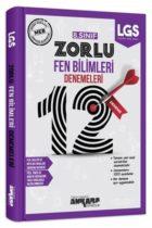 Ankara Yayıncılık 8. Sınıf Fen Bilimleri 12 Zorlu Denemeleri