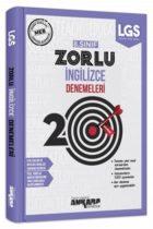 Ankara Yayıncılık 8. Sınıf İngilizce 20 Zorlu Denemeleri